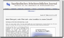 Saarland Journal of Labour Law (SAJ)